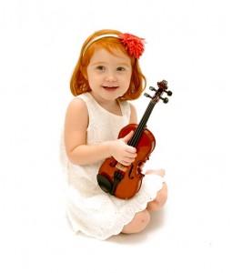 Lucy w violin